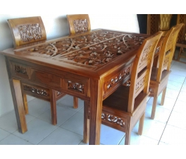 Dining table 3-dimensional Kartini 4Ch