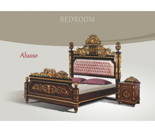 Alusso King Bed