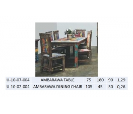 AMBARAWA TABLE