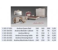 Andrea Dressing Table