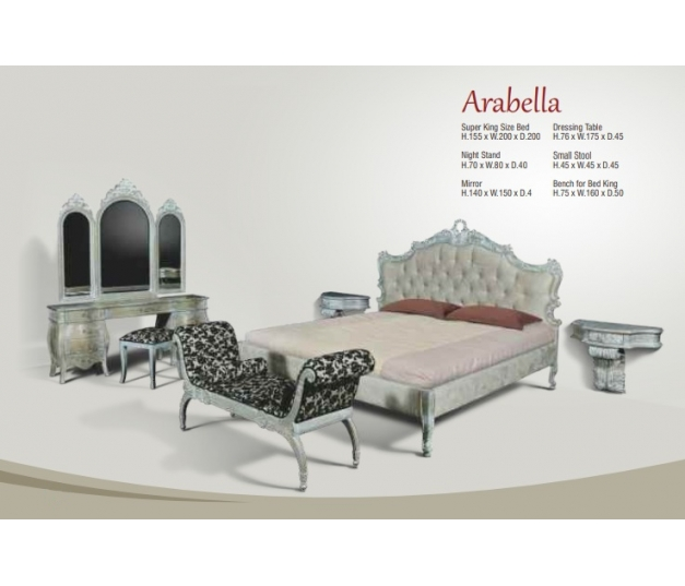 Arabella King Bed