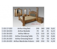 Arthur Dressing Stool