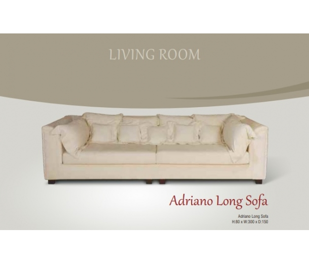 Adriano Long Sofa