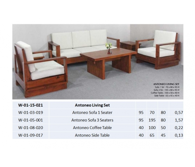 Antoneo Sofa 1 Seater