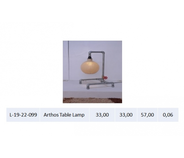 Arthos Table Lamp