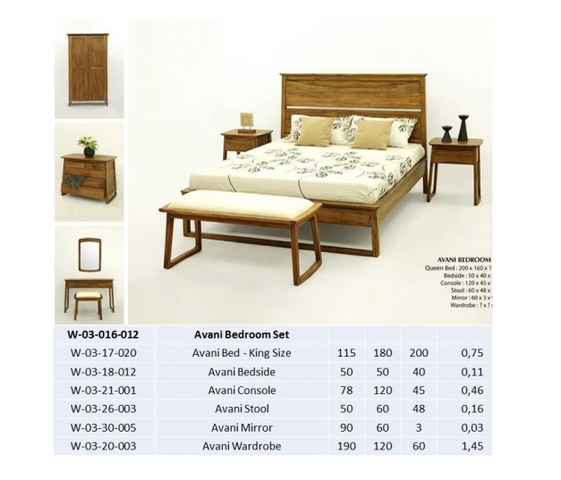 Avani Bedroom Set