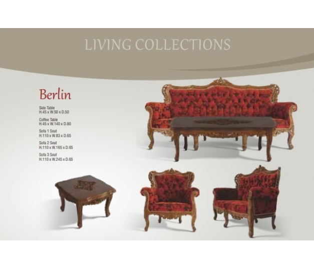 Berlin Sofa 1 Seater