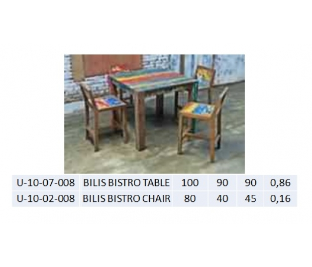 BILIS BISTRO TABLE