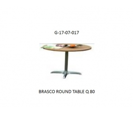 BRASCO ROUND TABLE Q 80