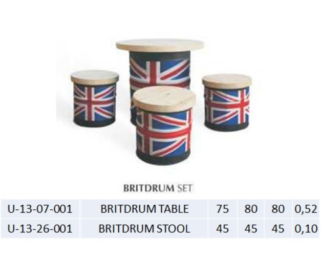 BRITDRUM TABLE