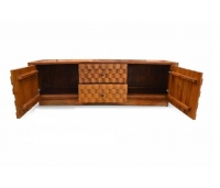 BUFFET ZION CURVE 2 DOORS AND 2 DRAWERS