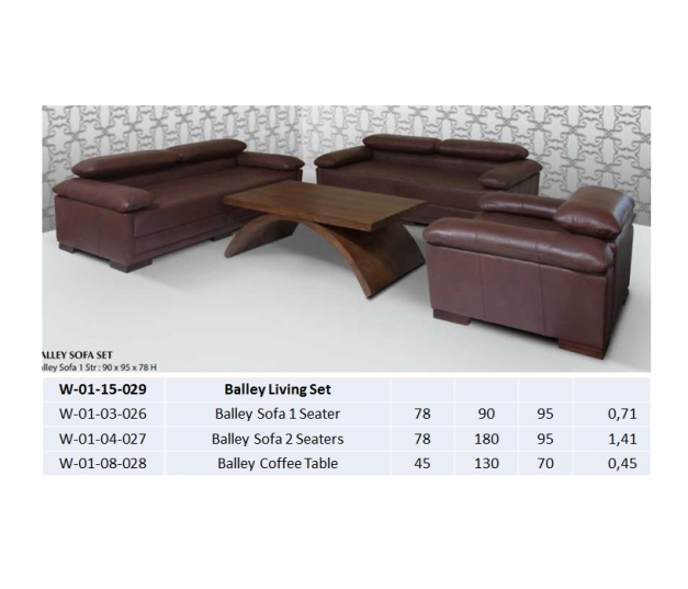 Balley Sofa 2 Seaters