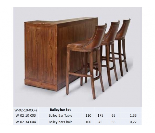 Balley Bar Table