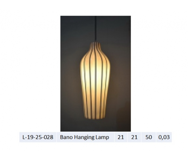 Bano Hanging Lamp