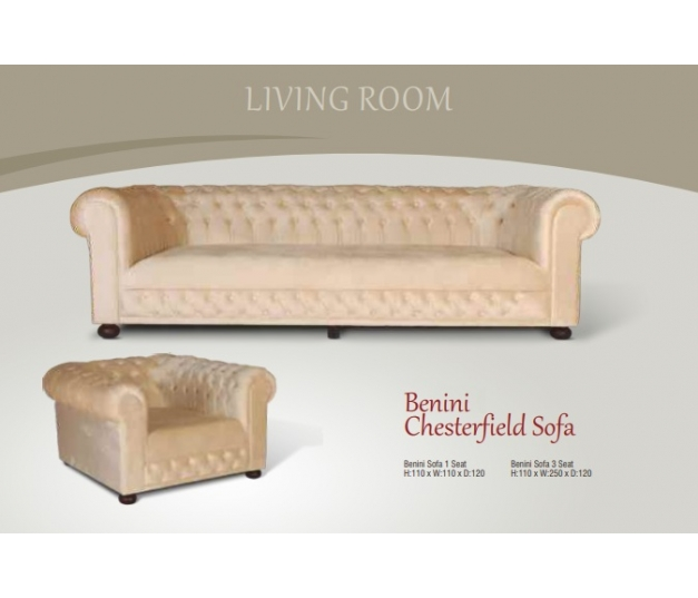 Benini Sofa 3 Seater