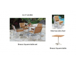 Brasco Square table set