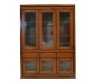 CABINET DISPLAY TEAK WOOD