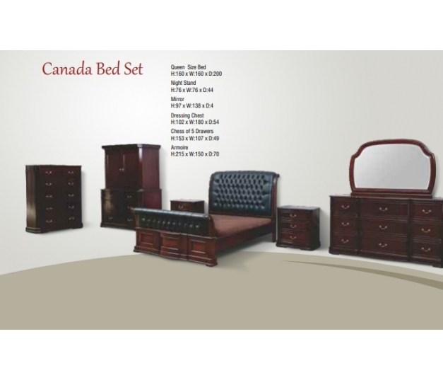 Canada Chest of 5 Drawer