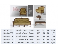 Candice Sofa 1 Seater