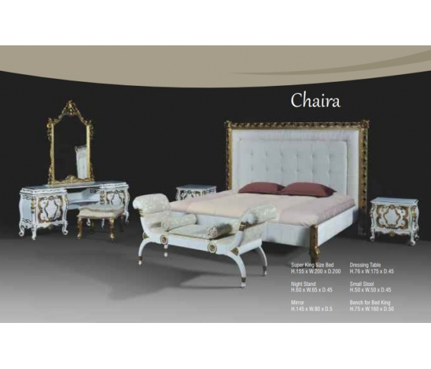 Chaira Bench for Bed