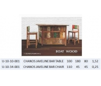 CHANOS JAVELINE BAR CHAIR