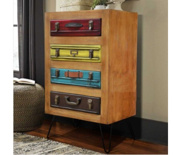 CHEST OF DRAWERS SUITCASE