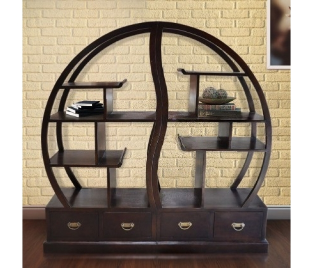 CIRCULAR RACK DISPLAY ORIENTAL STYLE