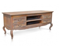CLASSIC TV STAND GREY ANTIQUE