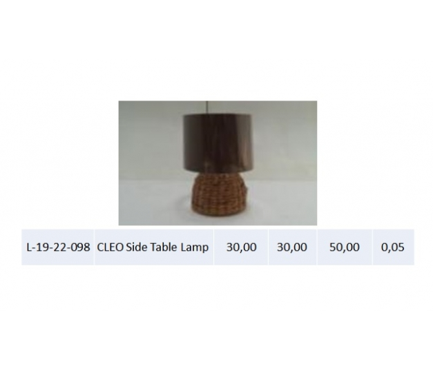 CLEO Side Table Lamp