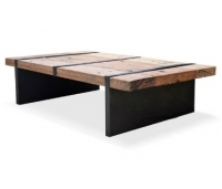 COFFE TABLE RUSTIC MAUD