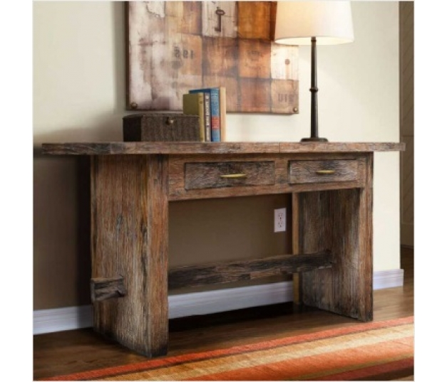 CONSOLE TABLE RUSTIC MANU