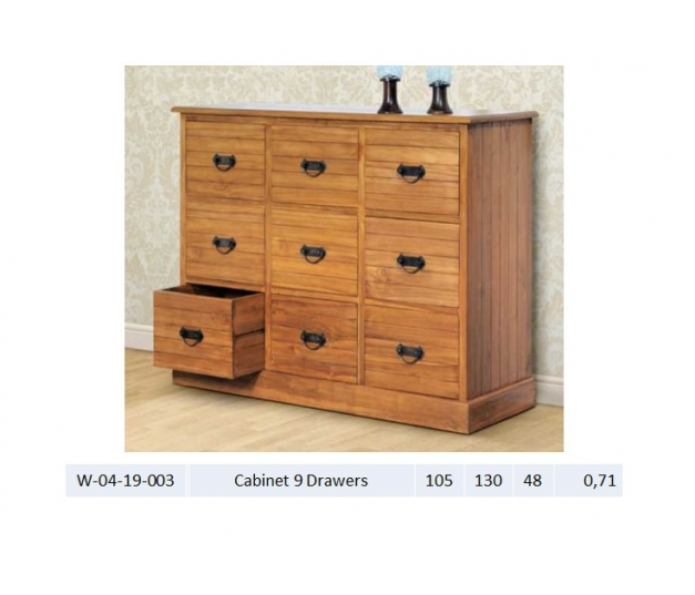 Cabinet 9 Drawers