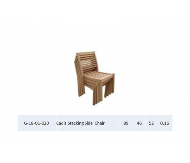 Cadiz Stacking Side Chair