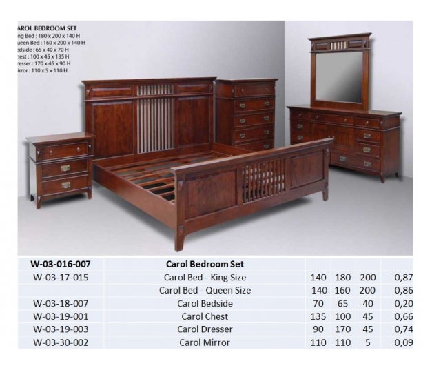 Carol Bedroom Set