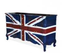 Chest Of Drawer Luis Union Jack