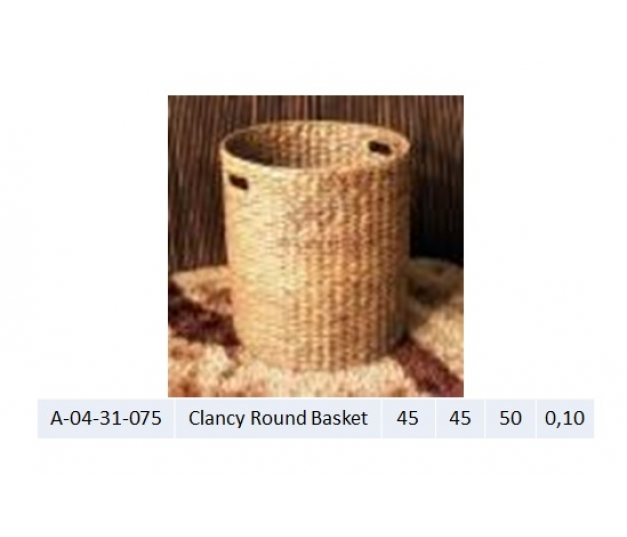 Clancy Round Basket
