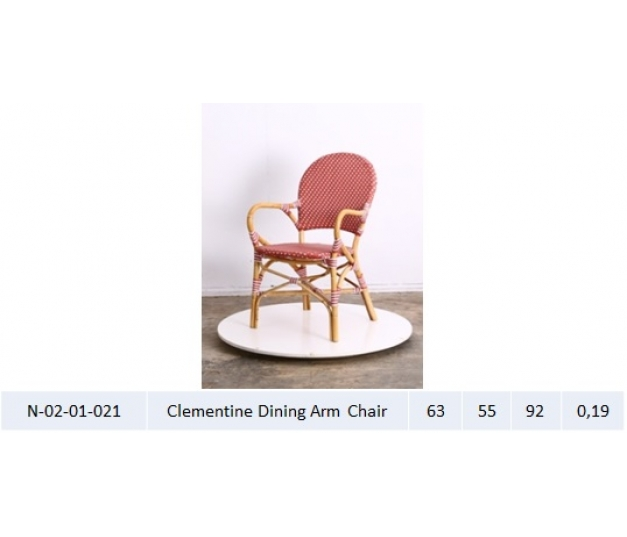 Clementine Dining Arm Chair