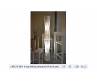 Coco Stick Lamination Floor Lamp