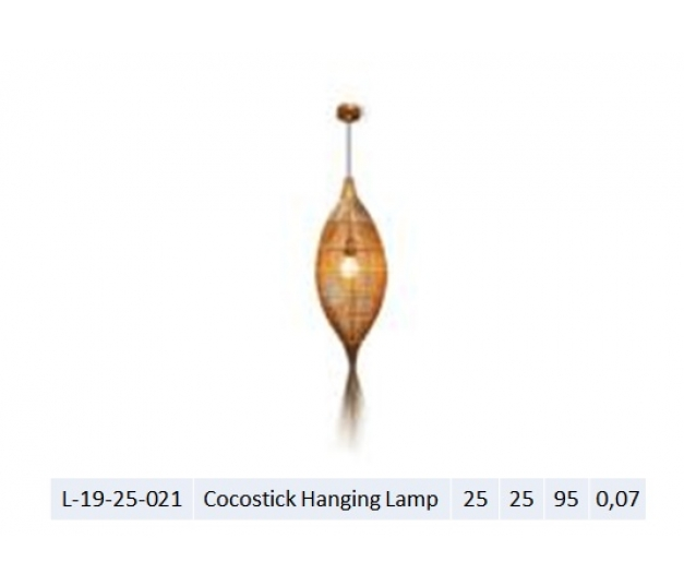 Cocostick Hanging Lamp