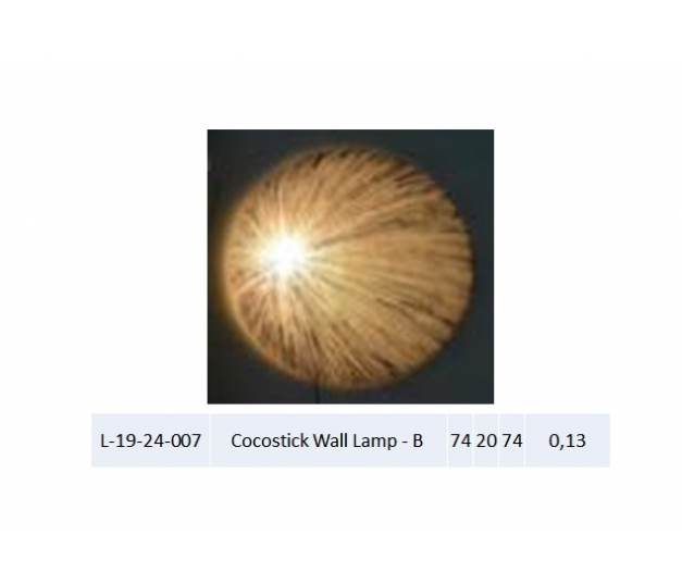 Cocostick Wall Lamp - B
