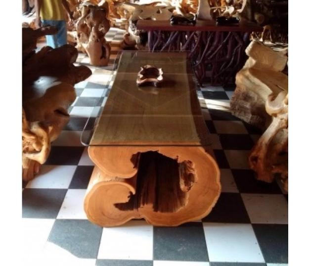 Coffee table teak set