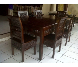 Dining table Kartini ukir
