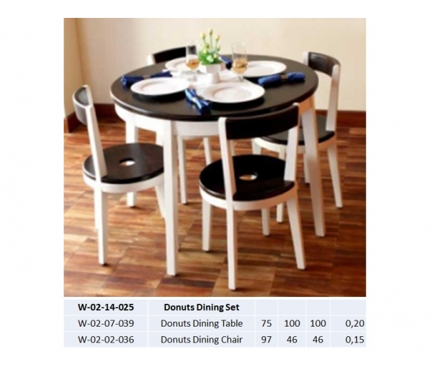 Donuts Dining Set