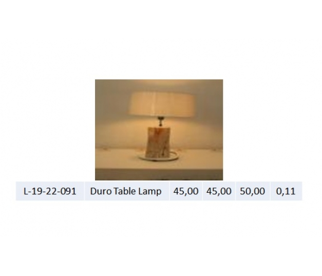 Duro Table Lamp