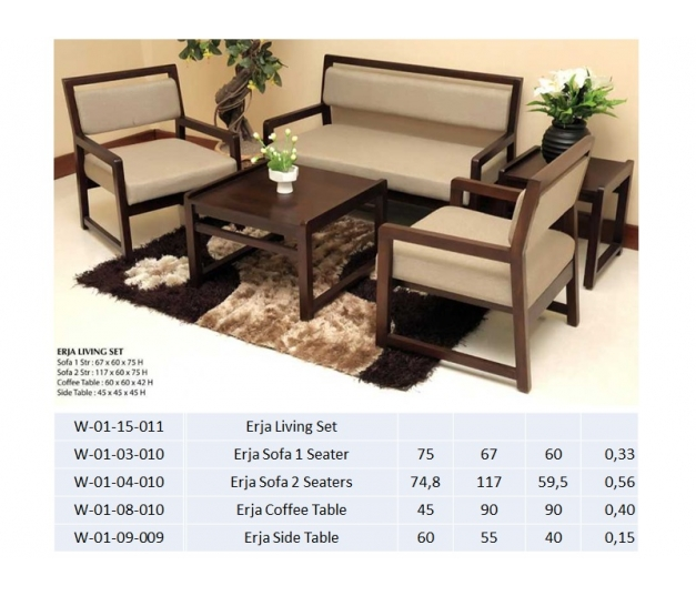 Erja Sofa 2 Seaters