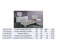 Feodora Single Bed Size