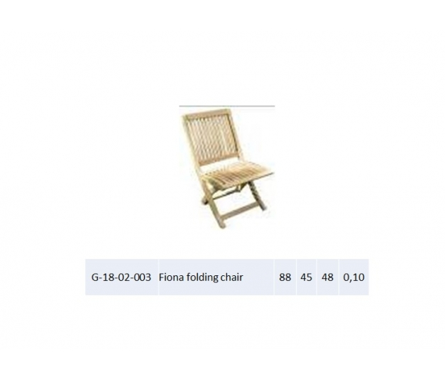 Fiona folding chair