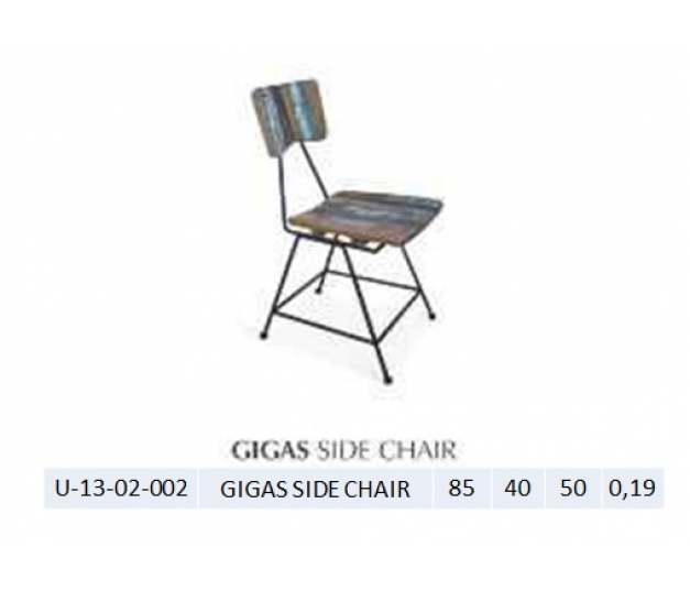 GIGAS SIDE CHAIR