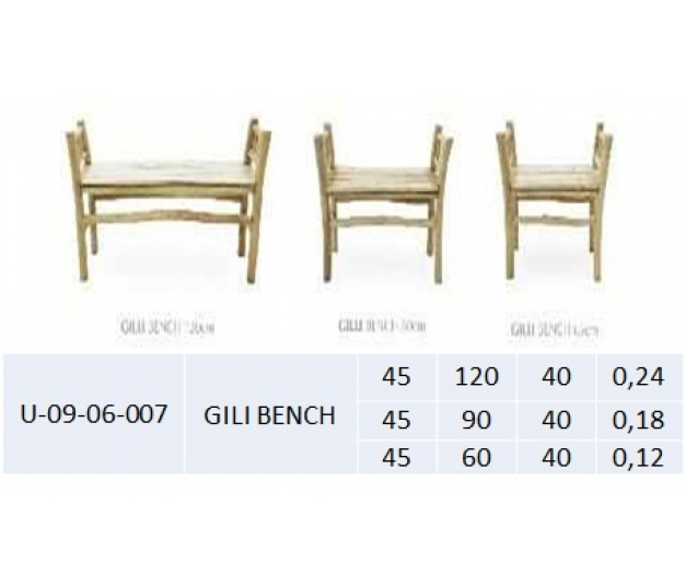 GILI BENCH LARGE