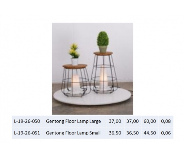 Gentong Floor Lamp Small